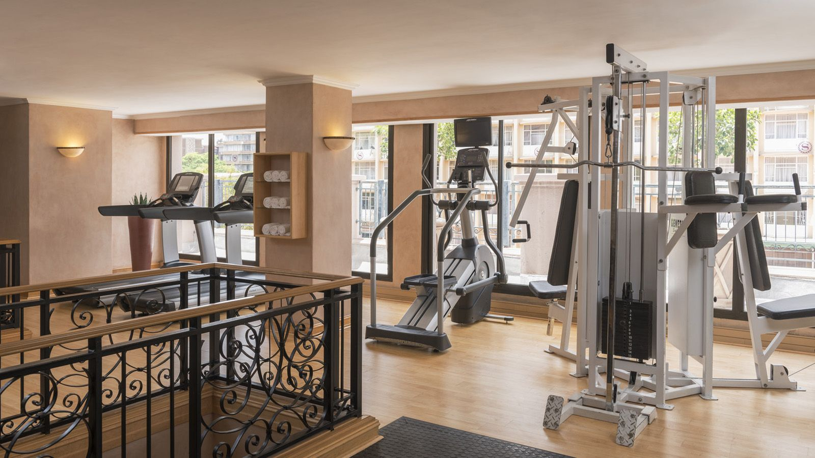 Sheraton Pretoria Fitness Center Interior View