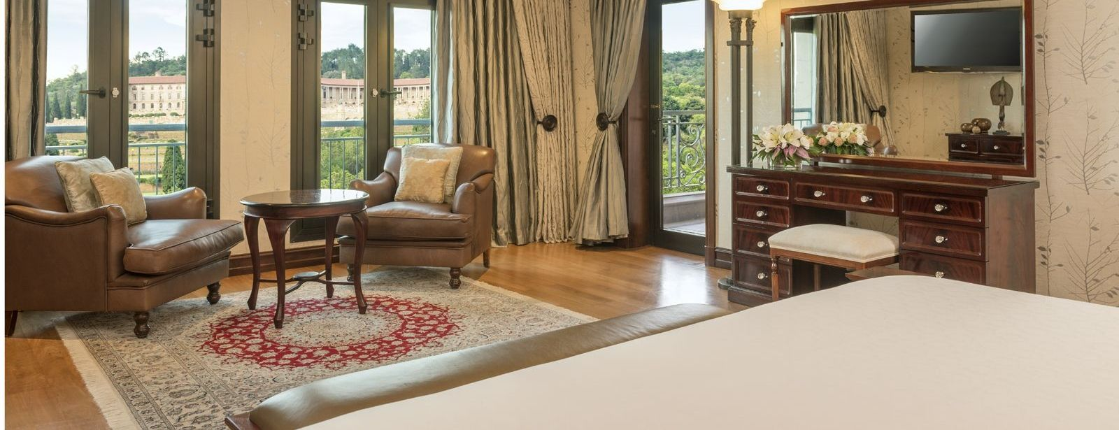 Presidential Suite Bedroom Interior